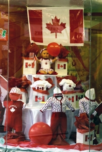 Canada Day Window