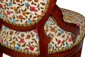 An authentic victorian chair