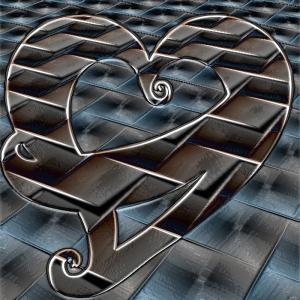 Heart design, illustration