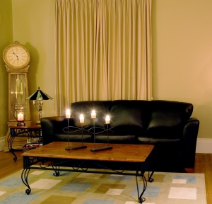 Livingroom by Candlelight