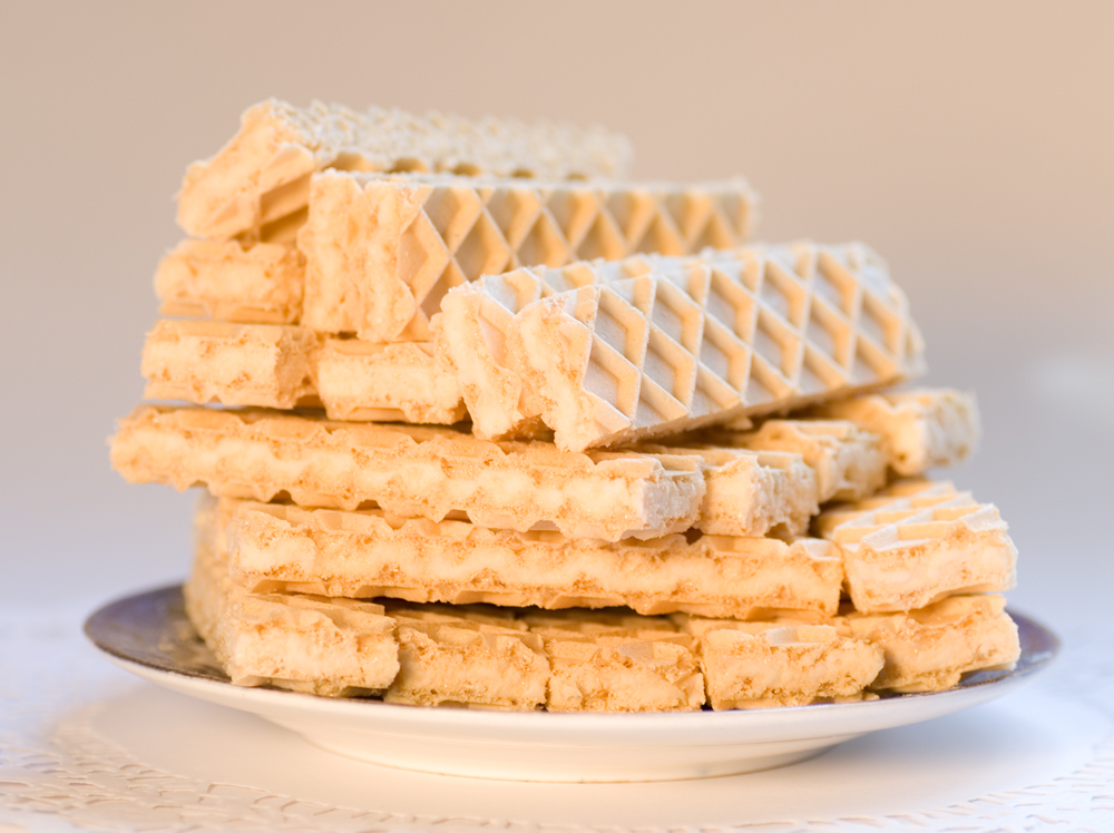Waffle Wafer Cookies What grocery store sol...