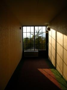 Shadowy Hallway